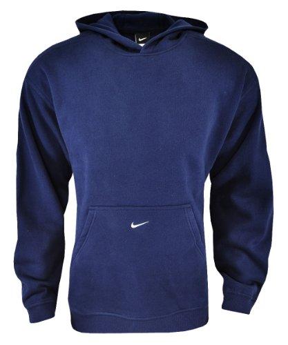 NIKE Men's Premier Fleece Hoodie Navy (Nike Premier Fleece Hoody)