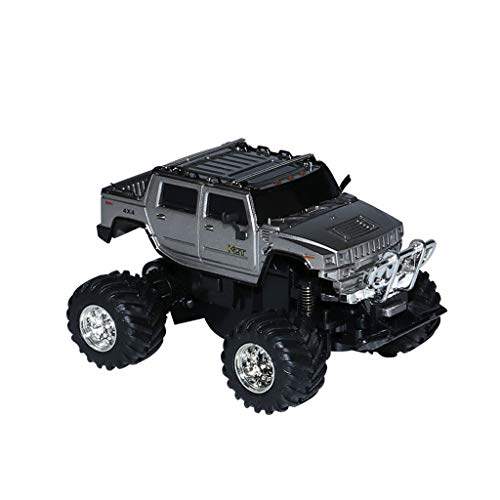Binory 1:58 Mini RC Monster Truck Remote Control Micro Racing Car Rechargeable Racing Birthday Gift for Kids Boys ()