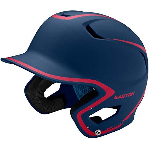 - Easton Youth Z5 2.0 Matte Two-Tone Batting Helmet Navy/Red 6 1/2-7 1/8