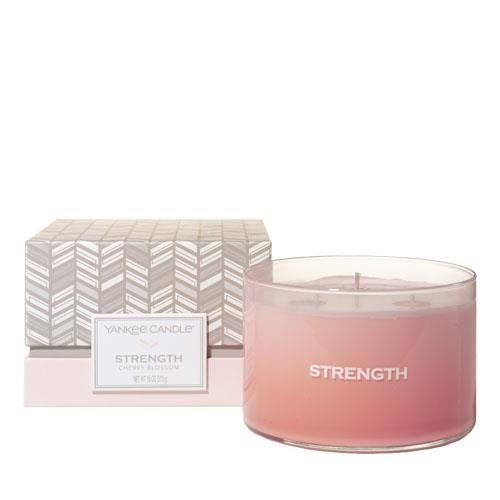 (Yankee Candle Making Memories Collection Strength Candle-Cherry Blossom)