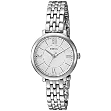 Fossil Women's Jacqueline Small Stainless Steel ES3797 Silver Watch