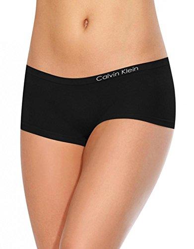 Calvin Klein Pure Seamless Boyshort Black Medium