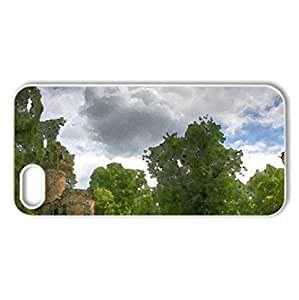 ludwigsburg castle in a wonderful german park hdr - Case Cover for iPhone 5 and 5S (Watercolor style, White)