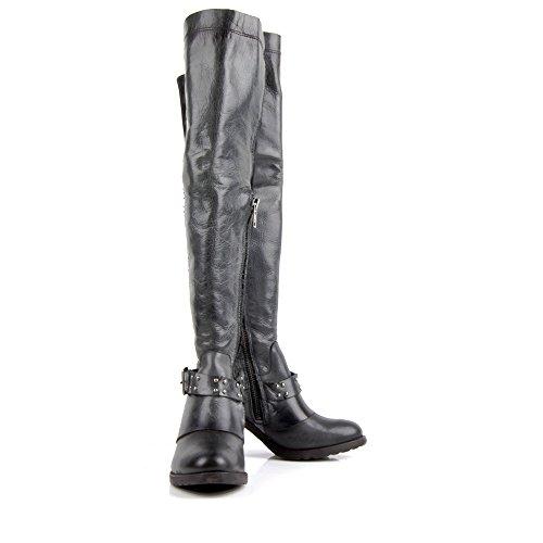 Klassik Schuhe Leder Echtes Damen Verlieben Felmini Mehrfarbig Stella Hohe P619 Stiefel 5PS5wTXqz
