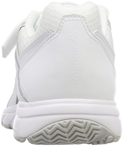 Chaussures 0 white Reebok Nordique De N Cushion steel Marche Blanc Femme 3 Work 1UURXqT