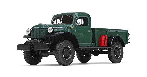 First Gear 1/30 scale Diecast Collectible Dark Green 1949 Dodge Power Wagon Express Pickup (#19-4090)