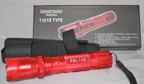 Kentucky Tactical 1101 Flashlight Stun Gun (red)
