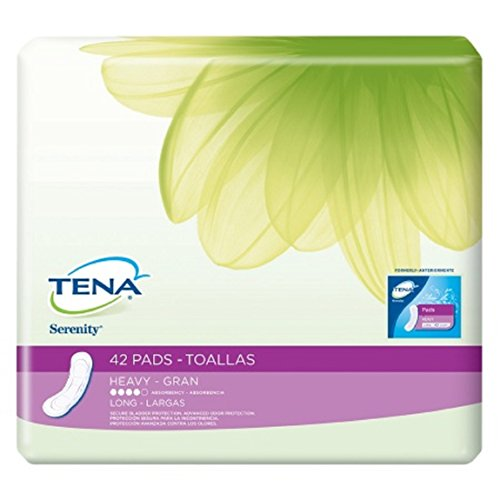 Tena Serenity, Ultra Plus Night And Dry Bladder Control Pads Economy, 117/CS