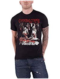Cannibal Corpse T Shirt Butchered at Birth 2019 Band Logo Official Mens Black