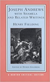 Book Joseph Andrews With Shamela and Related Writings (Norton Critical Editions) by Henry Fielding (1987-08-17)