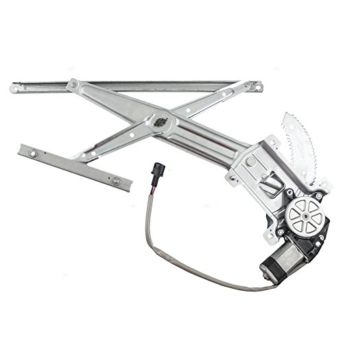 Drivers Front Power Window Lift Regulator with Motor Assembly Replacement for Chevrolet GMC Isuzu Pickup 15922914