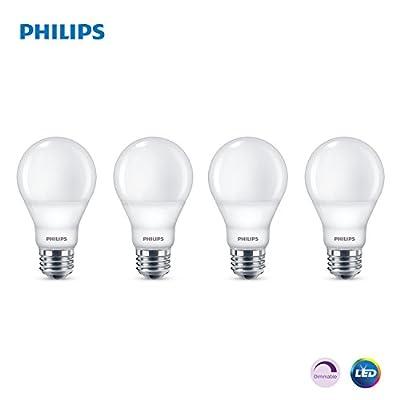 Philips LED Dimmable A19 Light Bulb: 800-Lumen 5000-Kelvin 9-Watt (60-Watt Equivalent) E26 Base