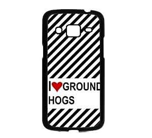 Love Heart Ground Hogs Samsung Galaxy Grand 2 G7106 Case - Fits Samsung Galaxy Grand 2 G7106