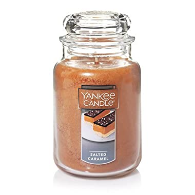 Yankee Candle Company Salted Caramel Large Jar Candle