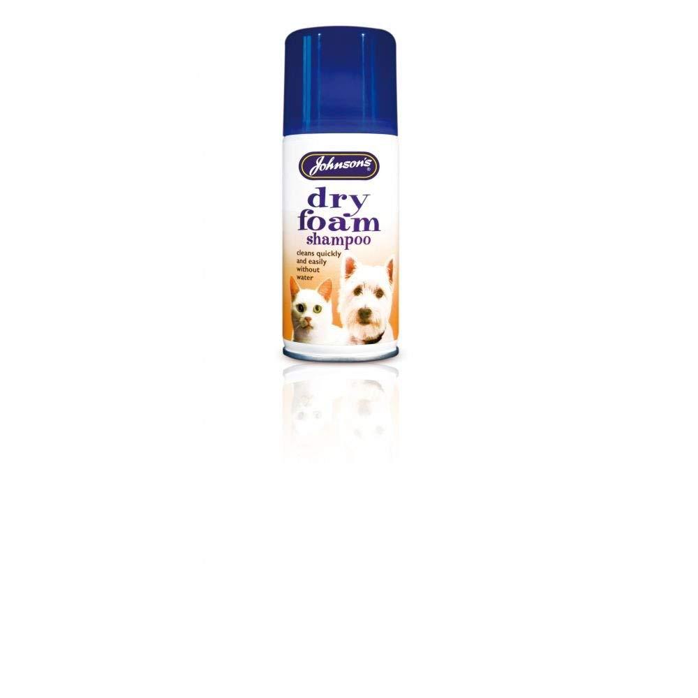 Johnson's Dry-Foam Shampoo Aerosol x 6