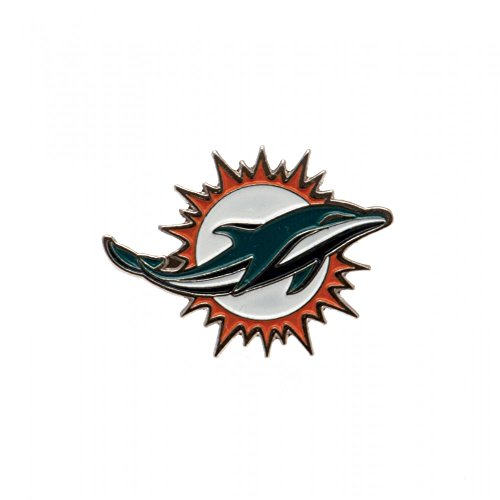 Official NFL pin badge MIAMI DOLPHINS (Miami Dolphins Nfl Dart)
