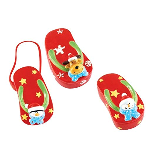 Christmas Flip Flop Jewelry Boxes by Holiday - Box Flop Flip Jewelry