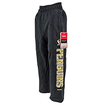 wholesale dealer 5c3f1 b2e15 Reebok Pittsburgh Penguins NHL Toddler Post Game Black Sweatpants