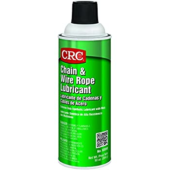 Amazon.com: CRC Chain and Wire Rope Lubricating Spray, (Net Weight ...