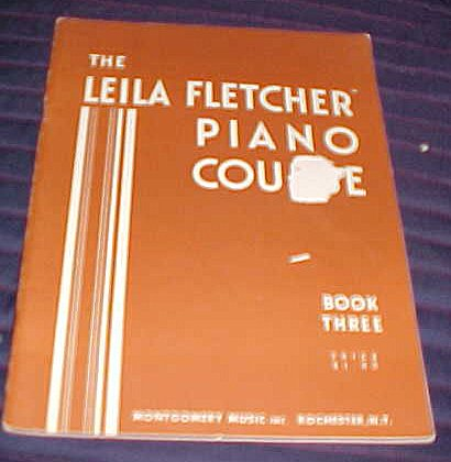 The Leila Fletcher Piano Course Book Three 1950 Sheet Music