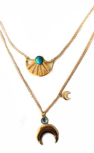 BlingSoul Adrift Necklace Women Gold - Jewelry Merchandise Gifts for Halloween -