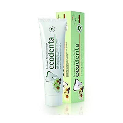 Ecodenta Natural Toothpaste for Sensitive Teeth Chamomile & Clove Extracts 100 ml