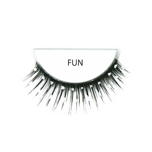 Ardell Runway Lashes, Fun-2 Rows Glitter Dots ()
