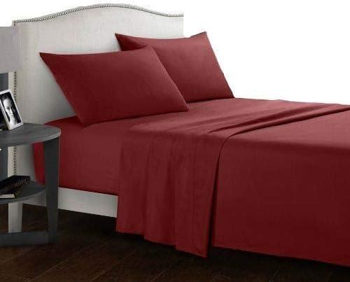 Urban Bed Juego de sábanas de algodón Egipcio de 400 Hilos, 4 ...