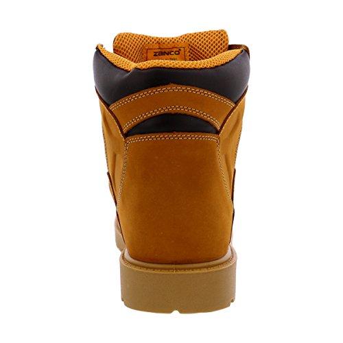 Zanco - Mens Flex Boot Boot Da Lavoro - Grano