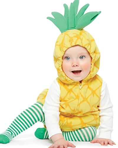 Carter's Baby Girls' 3-Pc. Little Pineapple Costume 9 Months]()
