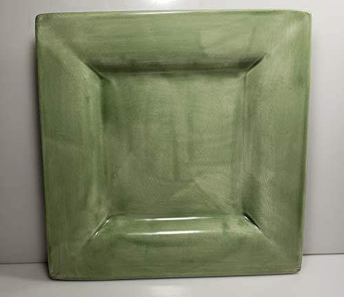 Pottery Barn Square Sausalito Sage Green Salad Plate 9 ()