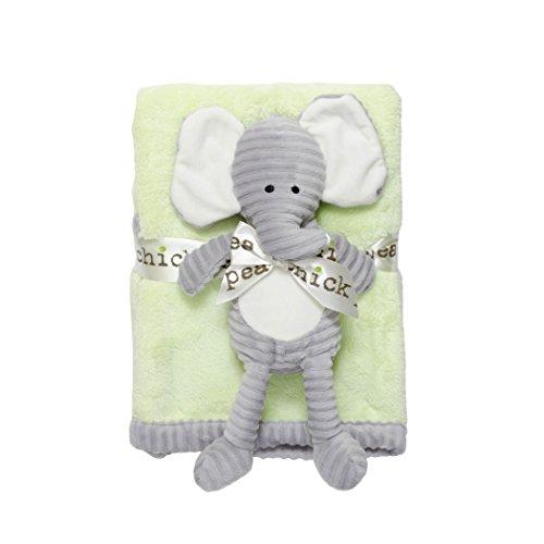 Chick Pea Velboa Blanket Elephant product image