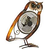 Deco Breeze DBF6162 Portable Collection Owl USB Fan