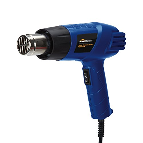 HomeRight Dual Temperature Heat Gun C800950 Paint Scraper, Paint Remover, Heat Paint Remover, Plastic Welding, Bending Plastic, Sticker Removal
