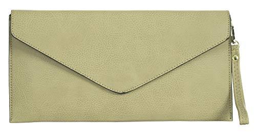 Eco Big Con Shop Pelle Lunga beige Handbag In Tracolla Pochette apRvIpq