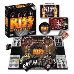 KISS DVD Board Games