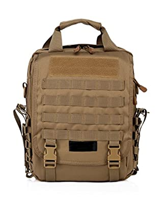 Tactial Computer Backpack Daypack Bag For Army Assault Bug Out Rucksack Outdoor Hiking Sport Camping Hiking Shooting Bag (Desert Camo)