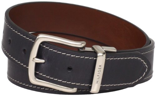 Tommy Hilfiger Men's Contrast-Stitching Jean (Jean Reversible Belt)
