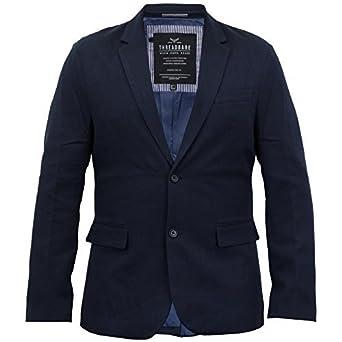 6c2b6f16cca38 Hommes Oxford Coton Blazer Threadbare Manteau Costume De Dîner Veste  Habillé Mariage Neuf - Marine -