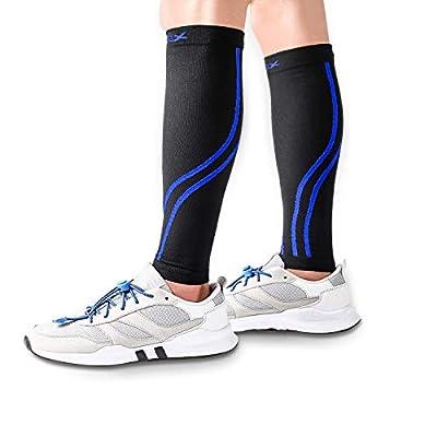 VIPEX Calf Compression Sleeves 20 30 mmHg for Women Men, Shin Guard Leg Socks for Running Cycling Football Night Splint Maternity Pregnancy Travel Nurses and More Sports