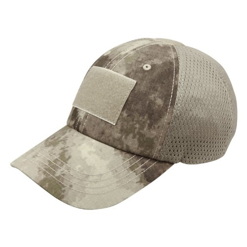Condor Mesh Tactical Cap (A-TACS, One Size Fits All)
