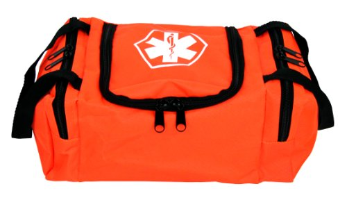 Dixie EMS Dixigear Empty First Responder II Bag, Orange ()