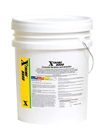 Xtreme Hard Collidal Silica Concrete Densifier Hardener Concentrate (5  Gallons) Makes 25