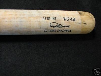 Pedro Guerrero Game Used 1990's (Cardinals)Louisville Baseball Bat -Slight -