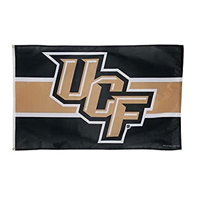 Wincraft NCAA University of Central Florida 01921115 Deluxe Flag, 3' x 5'