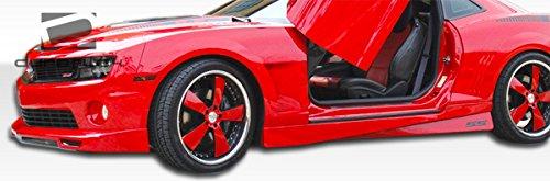 2010-2015 Chevrolet Camaro Duraflex Racer Side Skirts Rocker Panels - 2 Piece by Duraflex