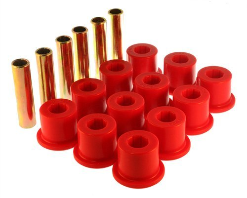 (Energy Suspension 3-2106R Leaf Spring Bushing Set)