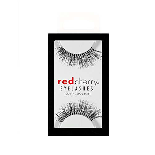 Red Cherry False Eyelashes #217 (Pack of 3 Pairs)