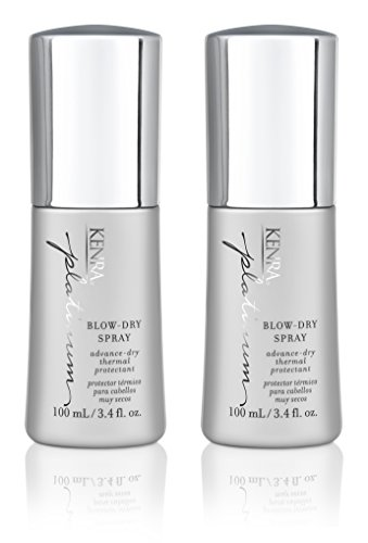 Kenra Platinum Blow-Dry Spray, 3.4-Ounce (2-Pack)