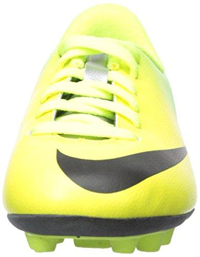 Nueva Boy Jr Mercurial Vortex FG-R Tacos de fútbol amarillo / cal / negro 1,5 - vibrant yellow/black-neo lime